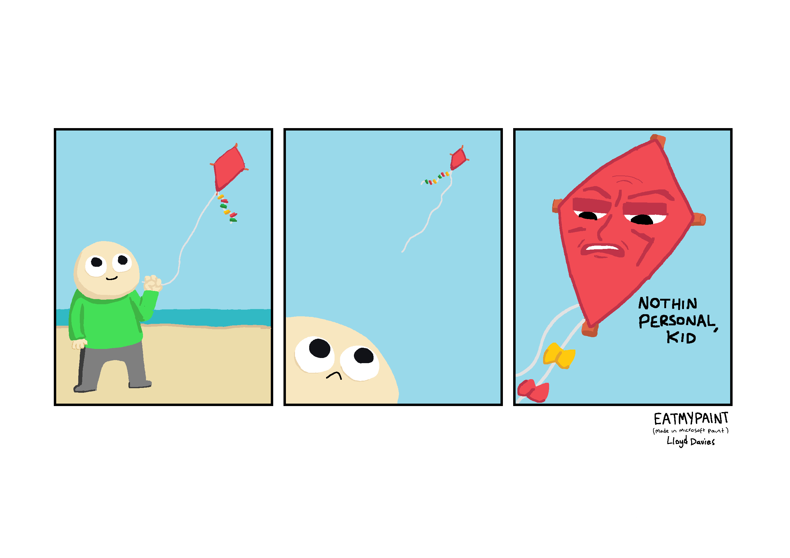 That's the last time I buy a kite from a witch