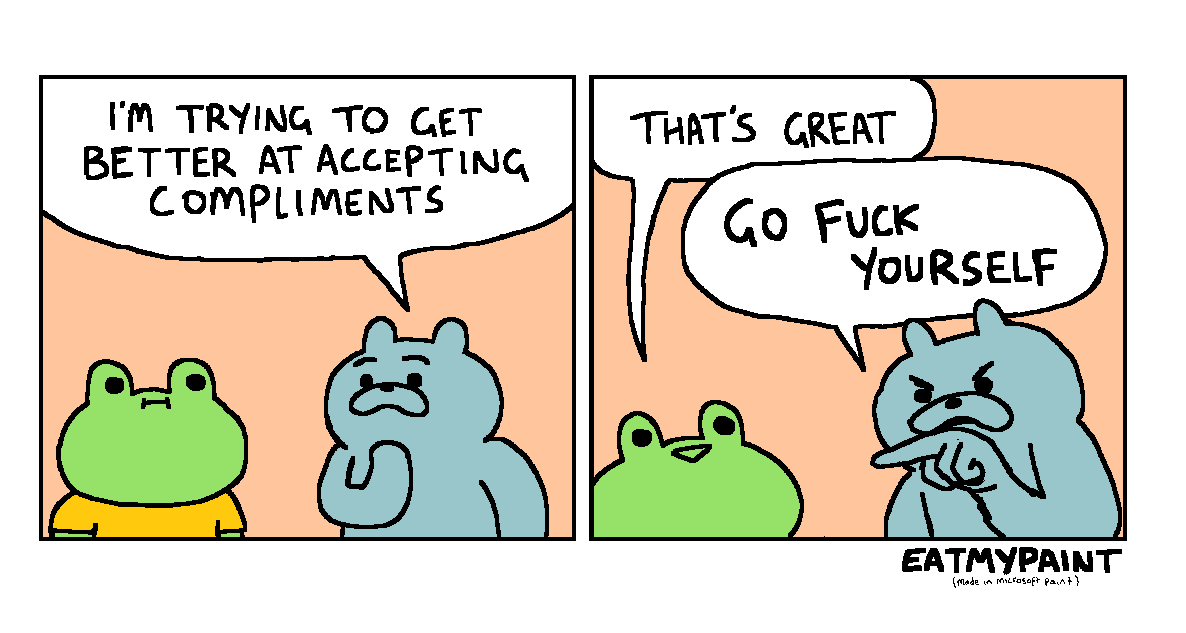 Frog was asking for that one in all fairness